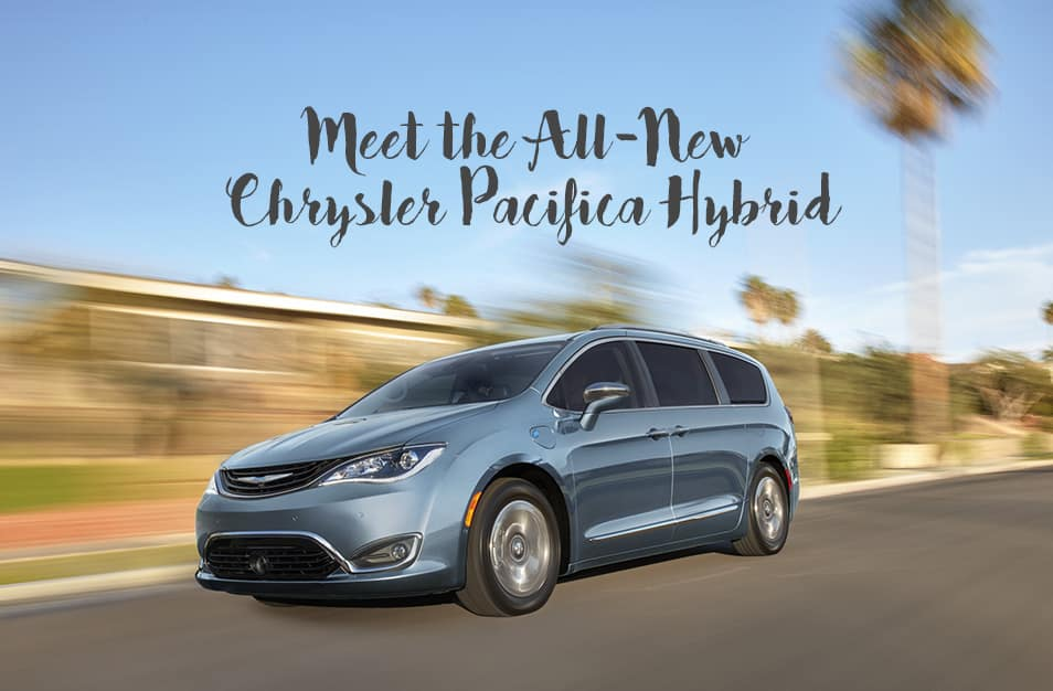 chrysler pacifica hybrid, a phev