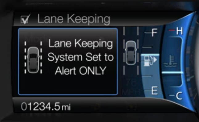 lane keep assist in Dodge vehicles