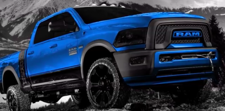 2018 Ram Hellcat Power Wagon