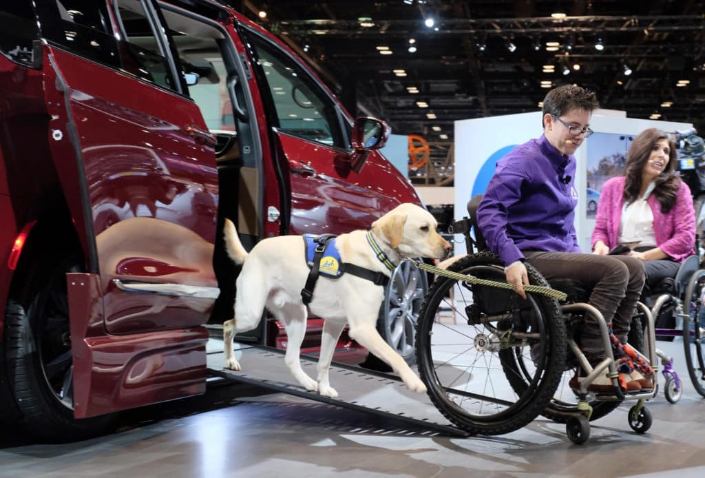 BraunAbility Wheelchair-Accessible Chrysler Pacifica