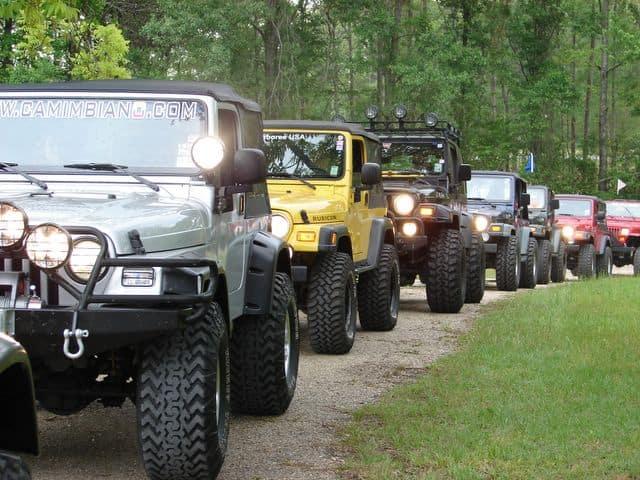 Jeep Jamboree Interactive Garage