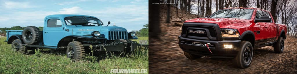 power wagon then and now