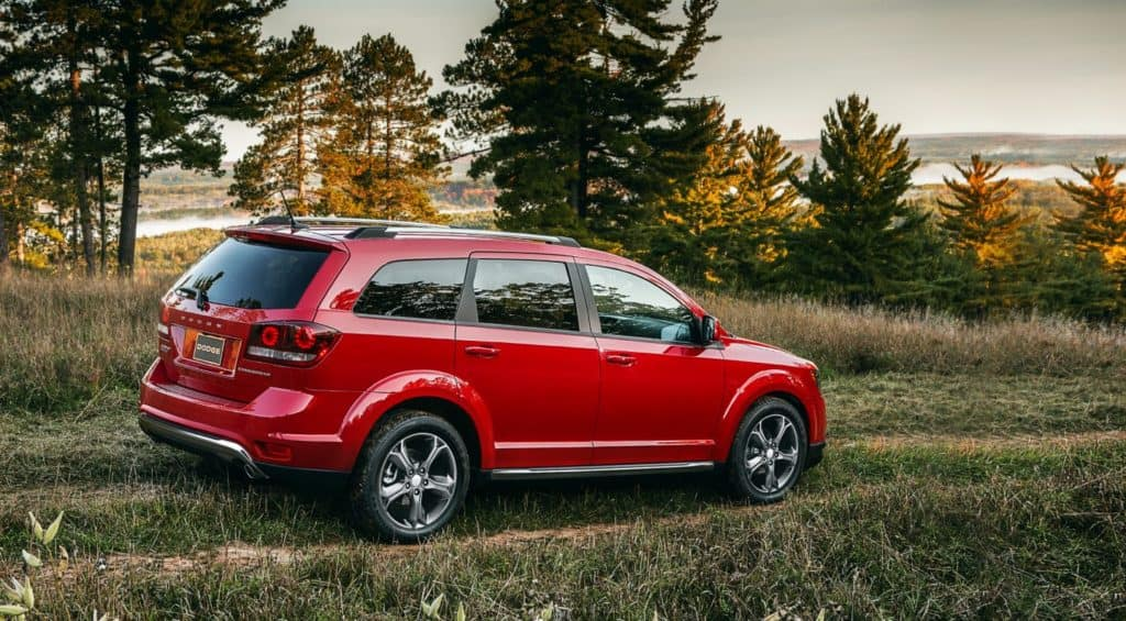 Dodge Journey comparison