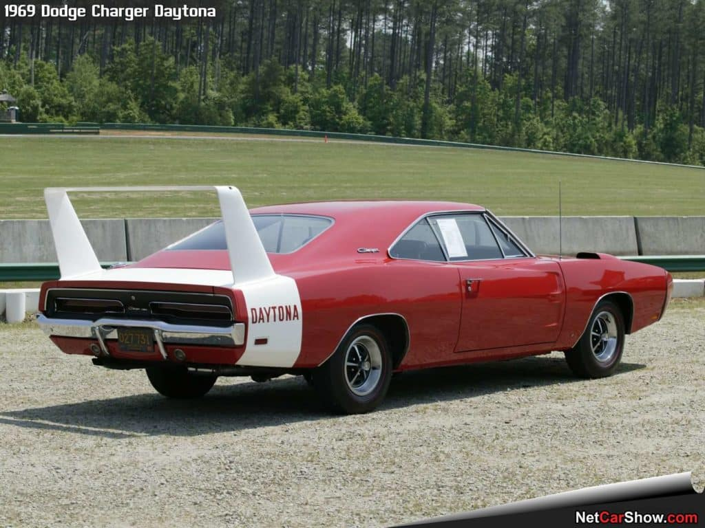 Dodge Charger Dayrona then and now