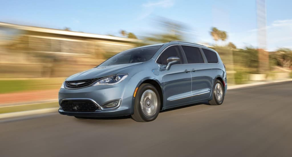 chrysler pacifica hybrid for college students