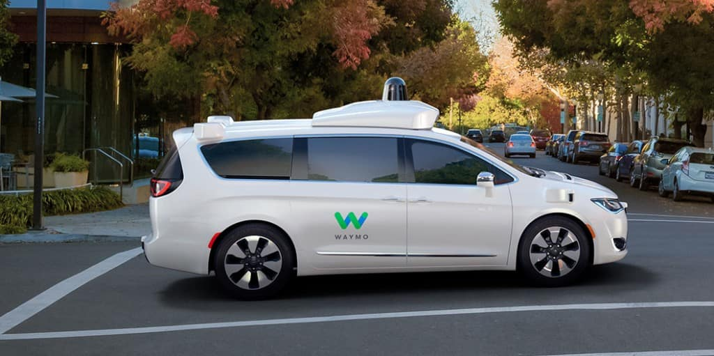 chrysler pacifica and waymo