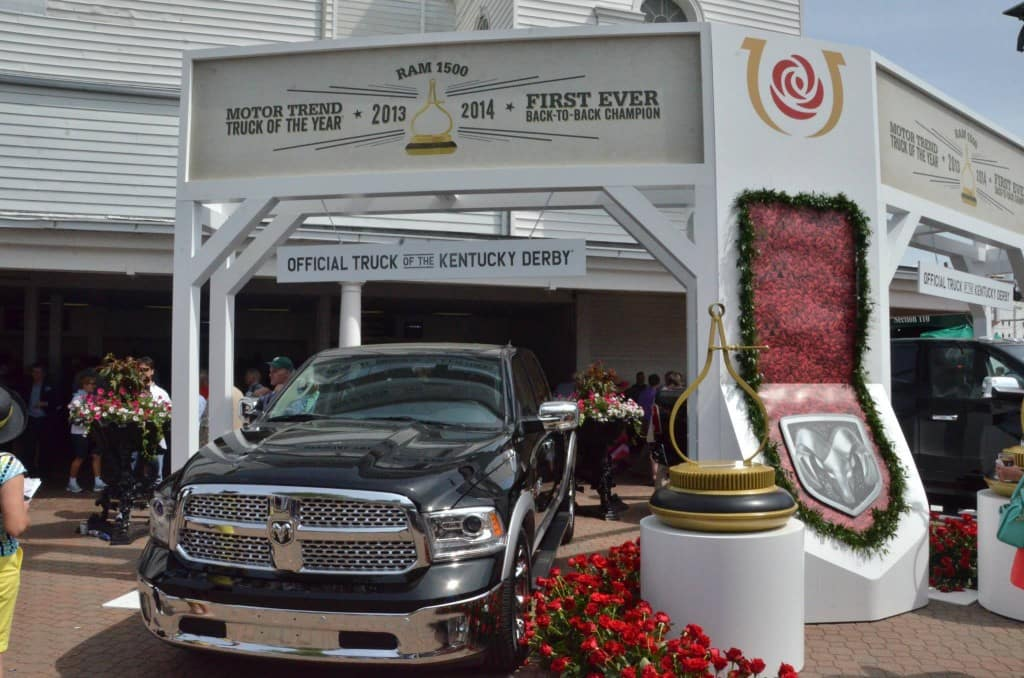 ram 2500 and kentucky derby