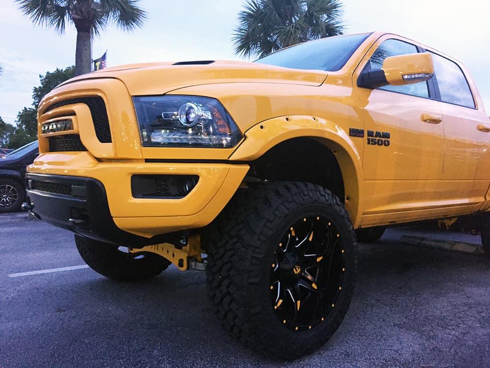 Ram 1500 Tradesman truck mods