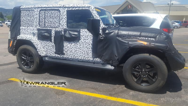 2019 jeep wrangler spied kendall jeep
