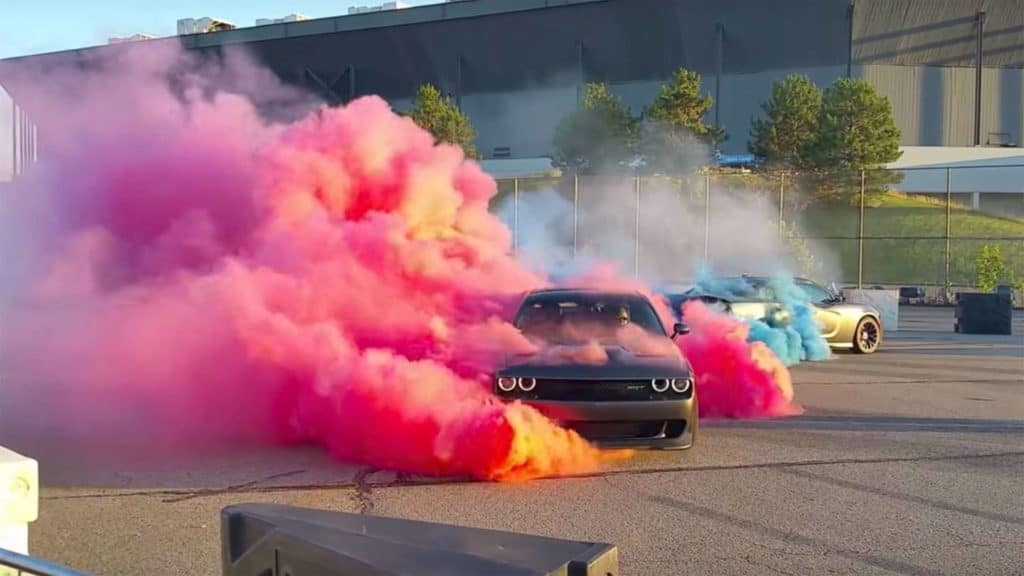 dodge vehicles burn out