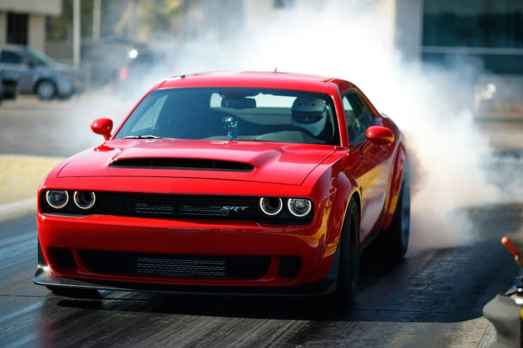 dodge demon srt drag strip kendall