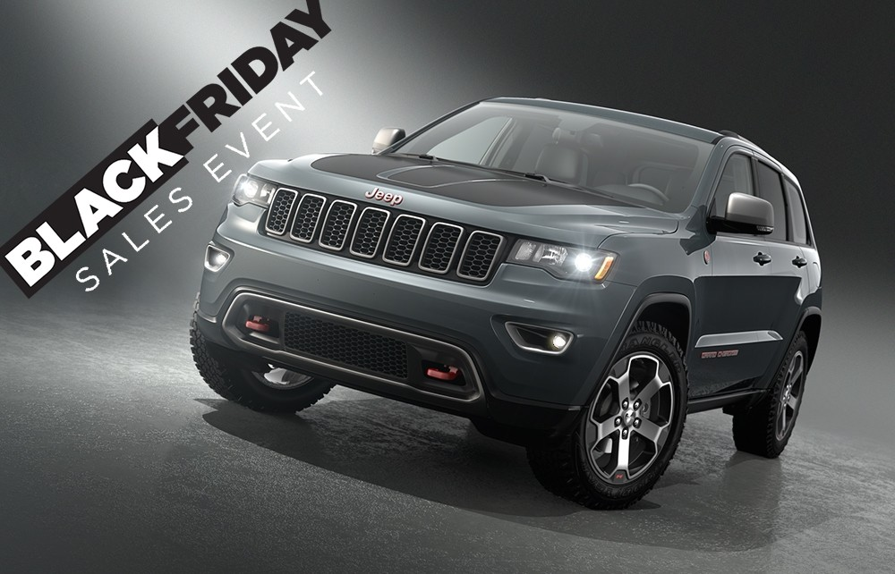 Kendall Jeep Offering Black Friday Sign Drive Lease Specials