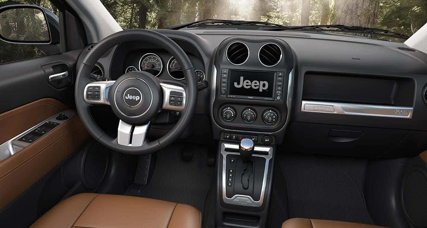 2014 Jeep Compass Saddle Tan Interior