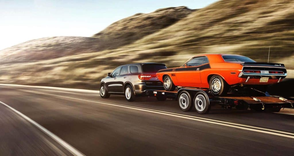 2014 Durango R/T Exterior Running Tow Rear