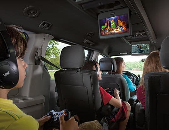 2014 Dodge Caravan Interior
