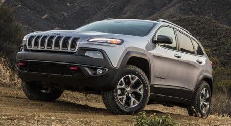 2015 Jeep Cherokee off road