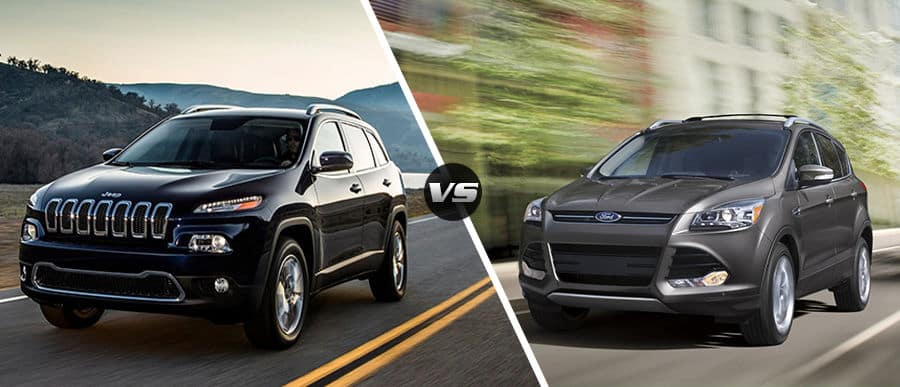 2015 Jeep Cherokee Vs. 2015 Ford Escape