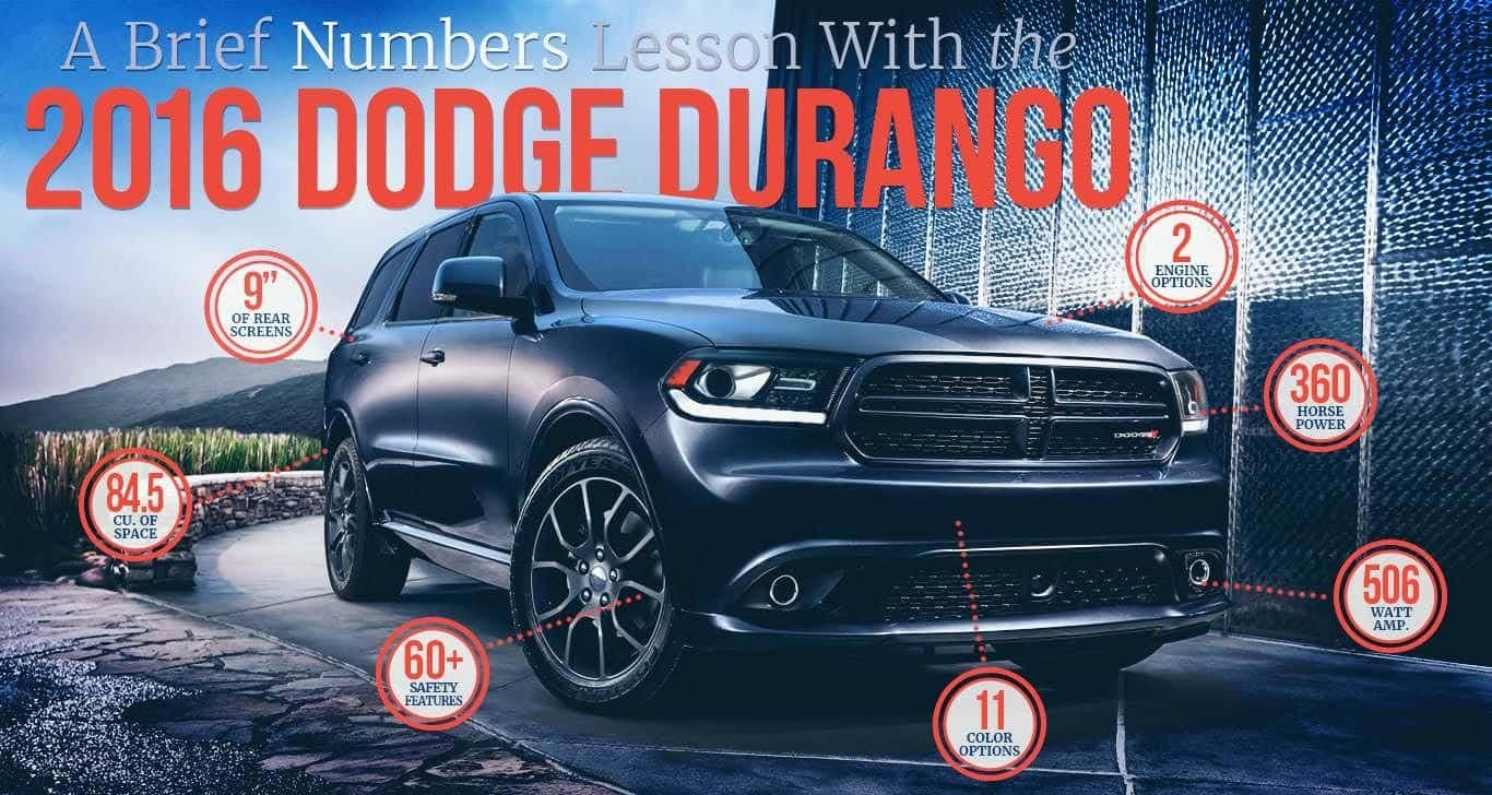 A Brief Numbers lesson With The 2016 Dodge Durango
