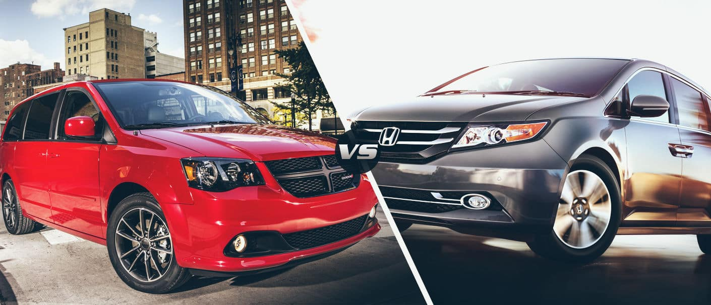 2015 Dodge Grand Caravan VS 2015 Honda Odyssey