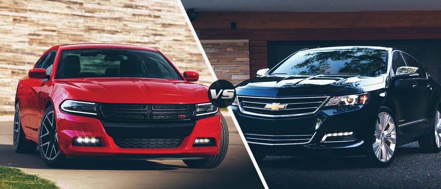 2015 Dodge Charger vs. 2015 Cheverolet Impala