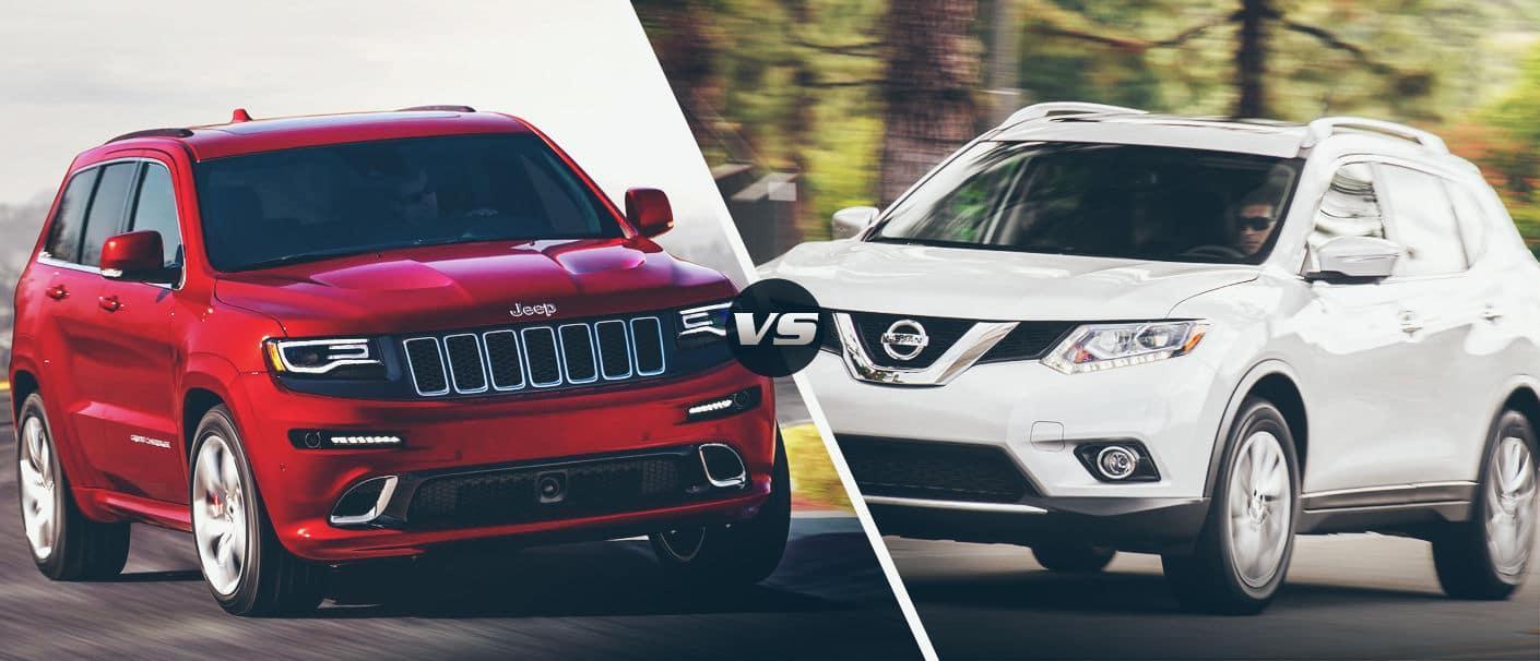 2015 Jeep Cherokee Vs 2015 Nissan Rogue Kendall Dodge Chrysler