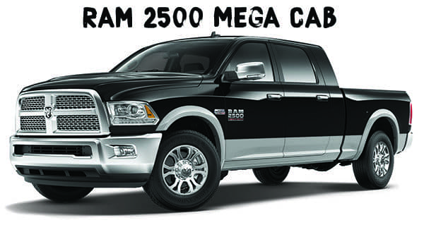 Kendall Ram Mega Cab 2500