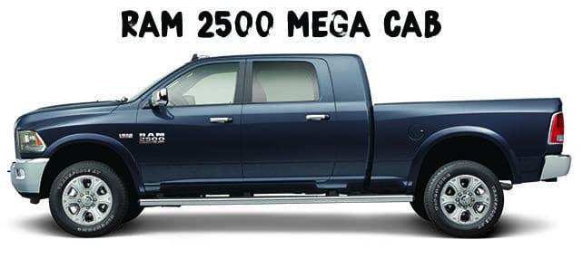 Kendall Ram 2500 Mega Cab