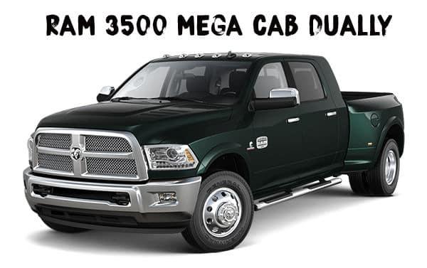 Kendall Ram Mega Cab Dually 3500