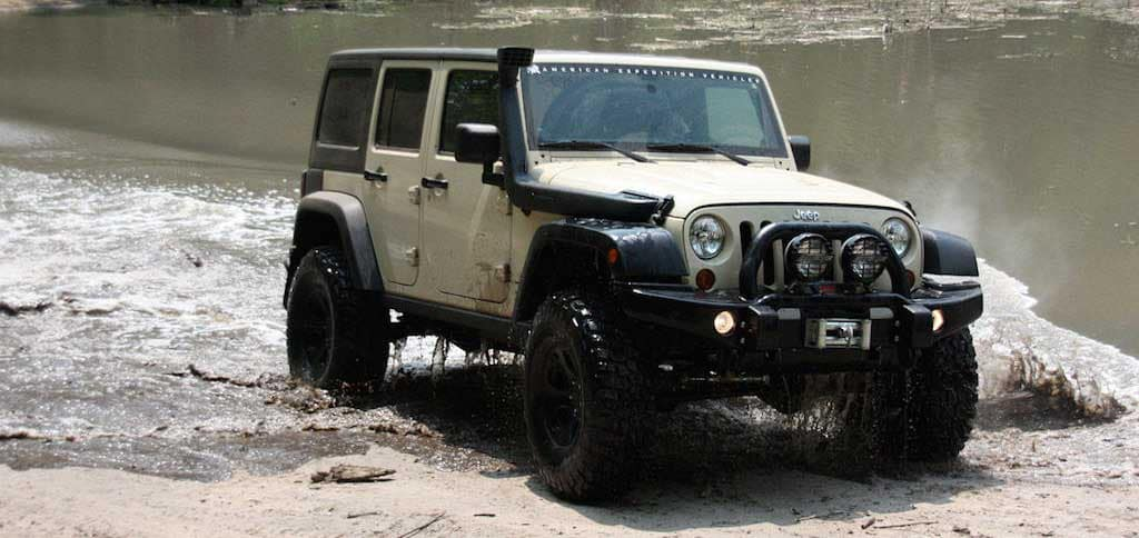 Jeep Off Roading