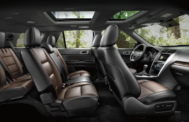 2015 Ford Explorer Interior