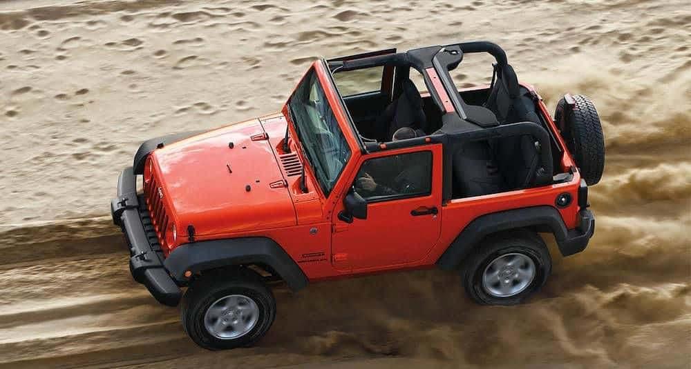 2014 Wrangler 4WD System