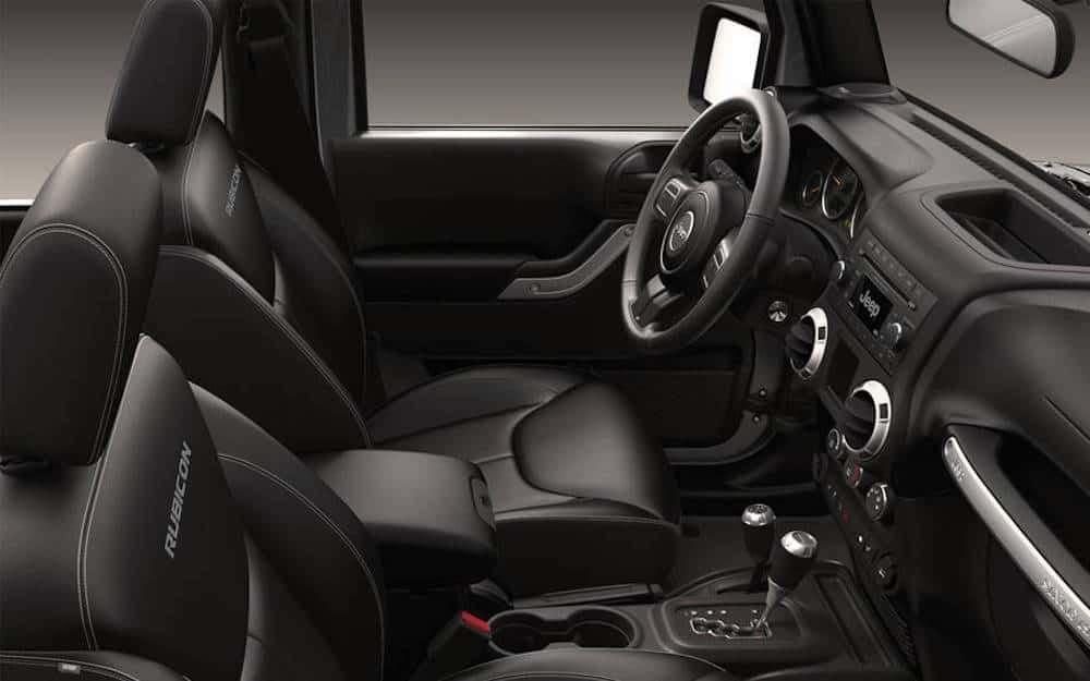 2016 Jeep Rubicon Interior