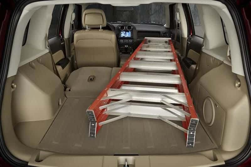 2016 Jeep Patriot Folding Seats