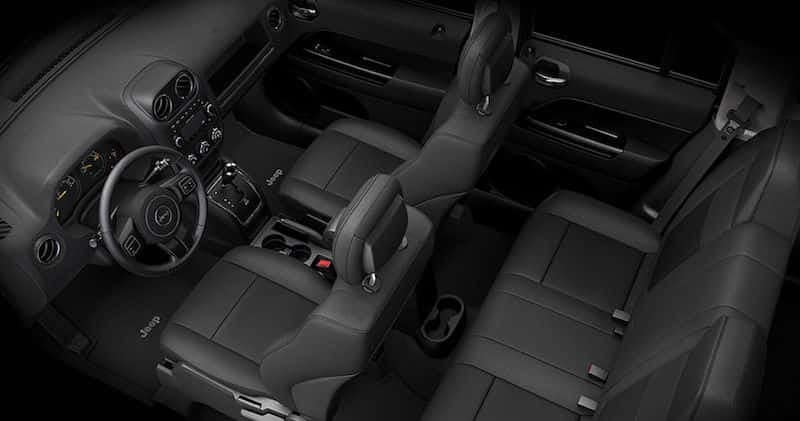 2016 Jeep Patriot Seating
