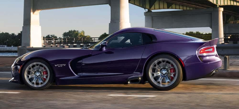 Dodge Viper Color Options