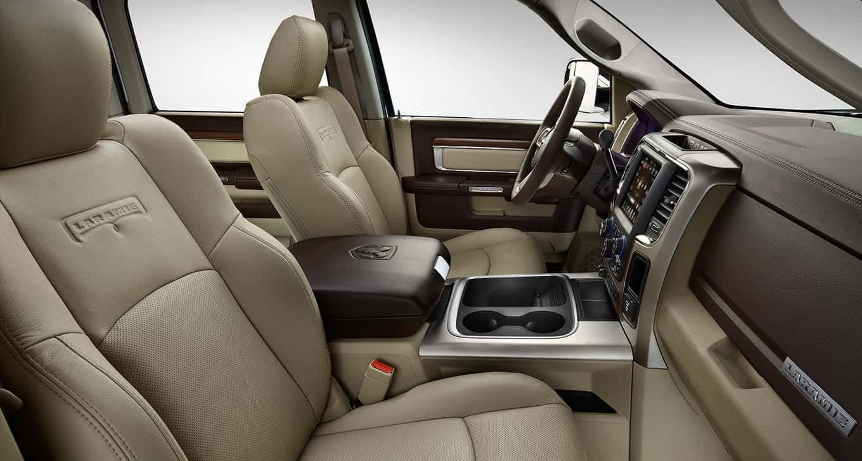 RAm 3500 Interior Front Seat