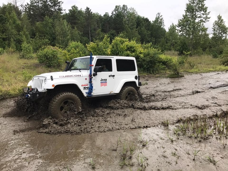 Kendall CJDR Jeep Mods for Mudding