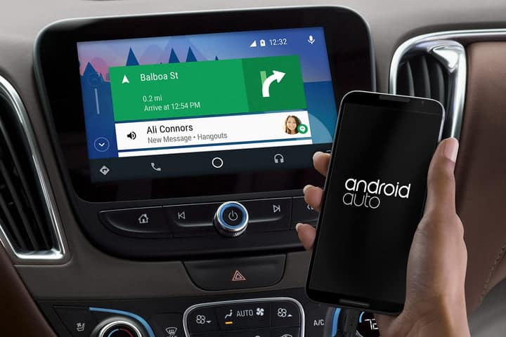 Kendall DCJR Android Auto