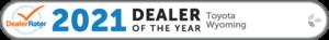 2021 Toyota dealerrater badge