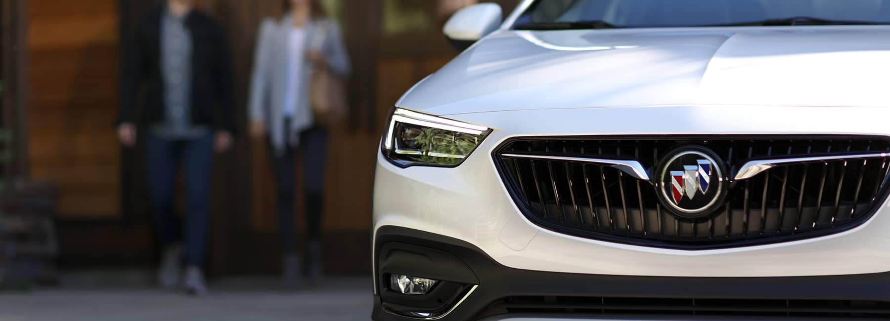 White 2020 Buick Regal TourX