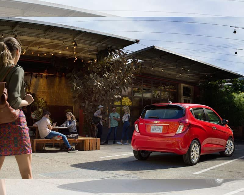 2019 Chevy Spark Full Payload