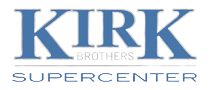 Kirk Brothers Supercenter logo