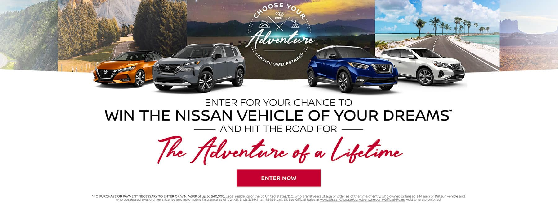 Nissan Sweepstakes Feb21