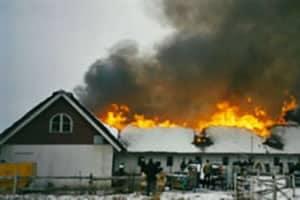 Fire at the Margretetorp Facility