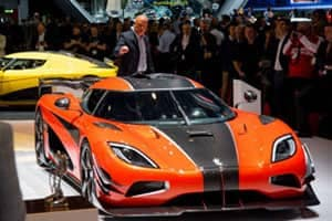 Grand Finale for the Agera