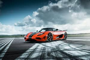 Koenigsegg Agera RS Arrives