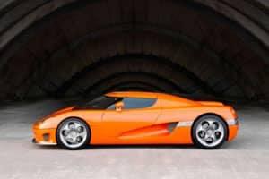 Evolution of the Koenigsegg CC8S