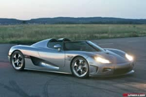 Arrival of the Koenigsegg CCX