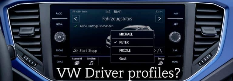 VW personalization options
