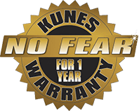 No Fear for 1 Year Lifetime Powertrain Warranty at Kunes Auto Group Main in